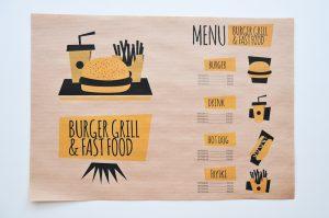 ekologiczna do baru z burgerami