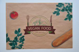 Podkladka na tacki eko vegan food